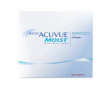 1-Day Acuvue Moist for Astigmatism, 90 бл
