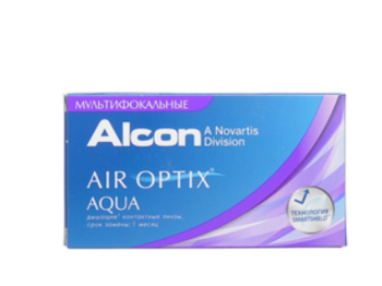 Air Optix Aqua MultiFocal, 3л