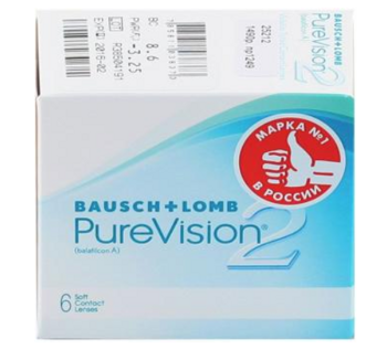 PureVision 2, 6 шт