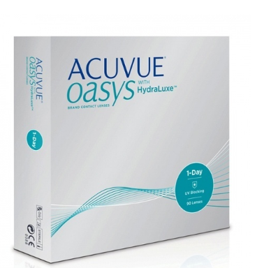 1-DAY Acuvue Oasys with HYDRALUXE, 90pk
