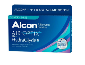 Air Optix Plus HydraGlude ( 6 шт)