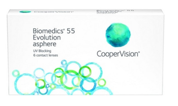 Biomedics 55 Evolution  ( 6 линз)