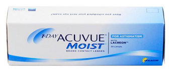 1- Day Acuvue Moist  for Astigmatism (30) the